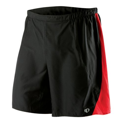Mens Pearl Izumi Maverick 2 in 1 Short 2-in-1 Shorts - Black/True Red M