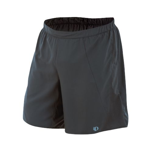 Mens Pearl Izumi Maverick 2 in 1 Short 2-in-1 Shorts - Shadow Grey/Shadow Grey L ...