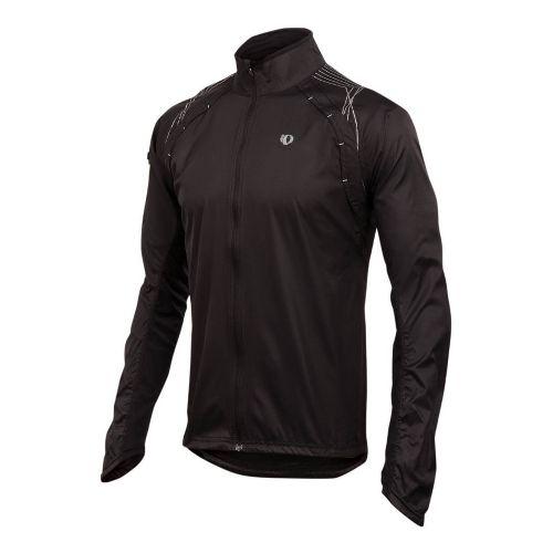 Mens Pearl Izumi Infinity Jacket Running Jackets - Black/Black S