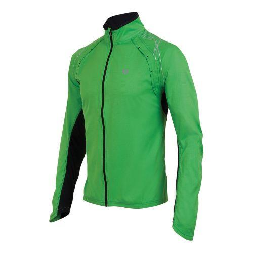 Mens Pearl Izumi Infinity Jacket Running Jackets - Fairway/Black S