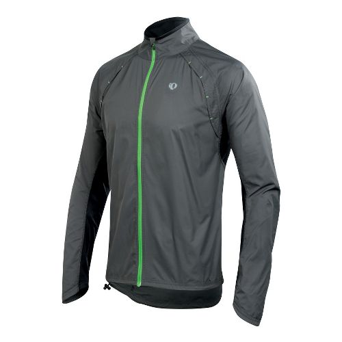Mens Pearl Izumi Infinity Jacket Running Jackets - Shadow Grey M