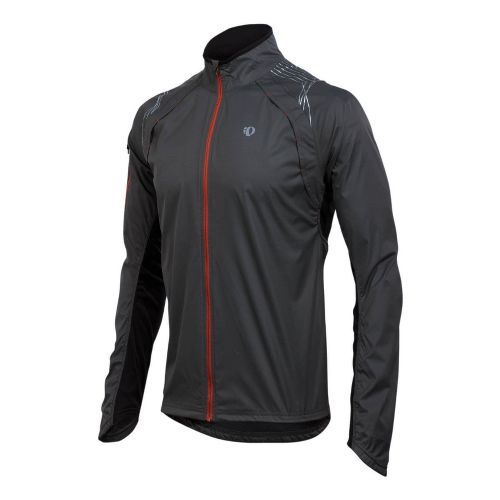 Mens Pearl Izumi Infinity Jacket Running Jackets - Shadow Grey/Black L