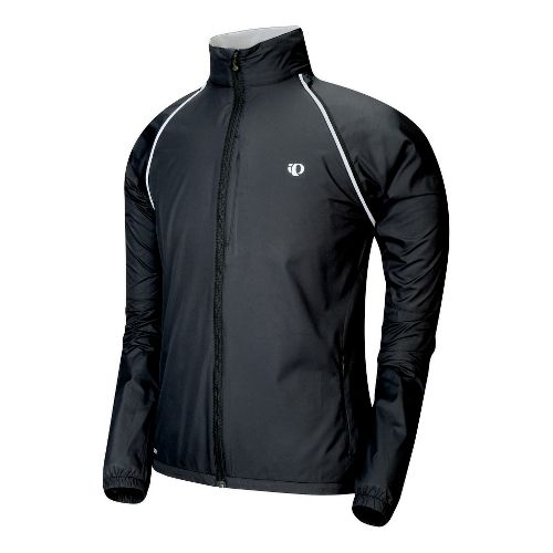 Mens Pearl Izumi Elite Barrier Convertible Outerwear Jackets - Black L