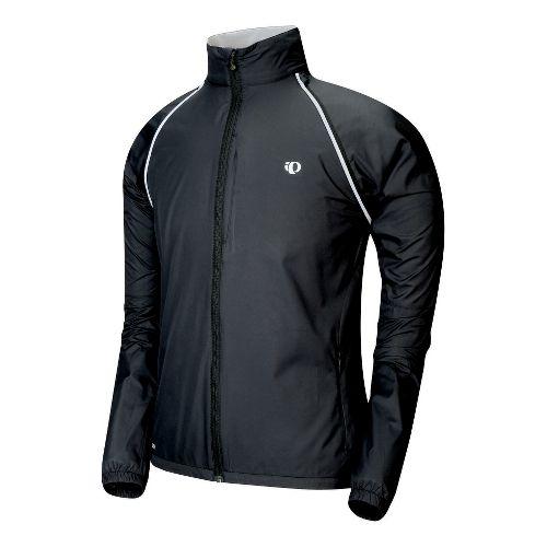 Mens Pearl Izumi Elite Barrier Convertible Outerwear Jackets - Black S