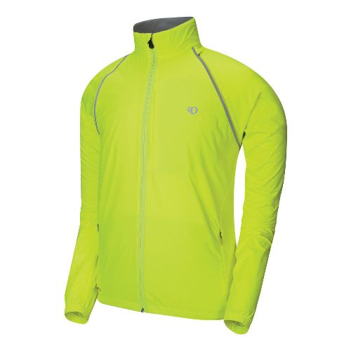 Mens Pearl Izumi Elite Barrier Convertible Outerwear Jackets - Screaming Yellow S