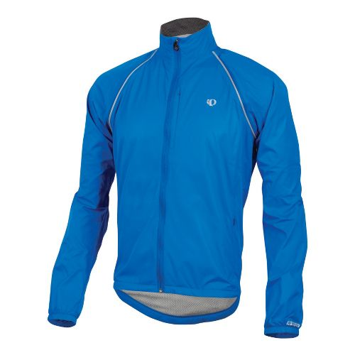 Mens Pearl Izumi Elite Barrier Convertible Outerwear Jackets - True Blue XXL