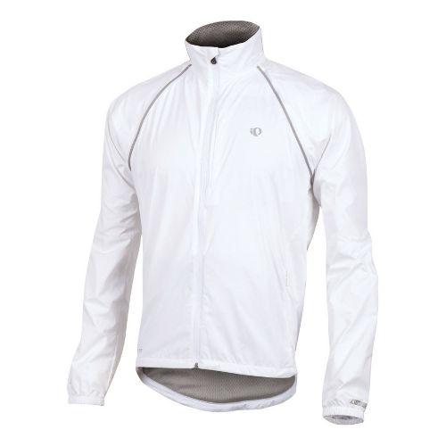 Mens Pearl Izumi Elite Barrier Convertible Outerwear Jackets - White XL