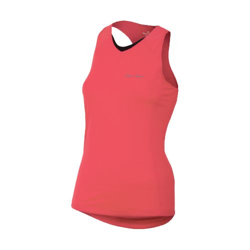 Womens Pearl Izumi Infinity In-R-Cool Singlet Technical Tops - Paradise Pink L