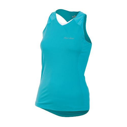 Womens Pearl Izumi Infinity In-R-Cool Singlet Technical Tops - Scuba Blue M