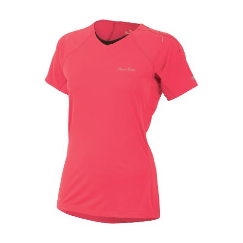 Womens Pearl Izumi Infinity In-R-Cool Short Sleeve Technical Tops - Paradise Pink XS