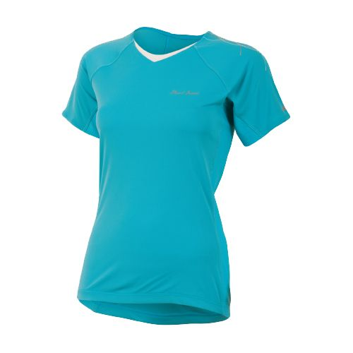 Womens Pearl Izumi Infinity In-R-Cool Short Sleeve Technical Tops - Scuba Blue XS
