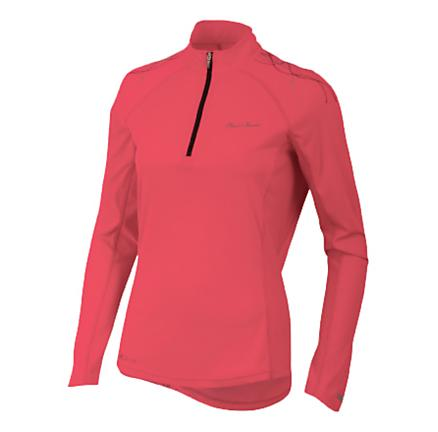 Womens Pearl Izumi Infinity In-R-Cool Long Sleeve 1/2 Zip Technical Tops