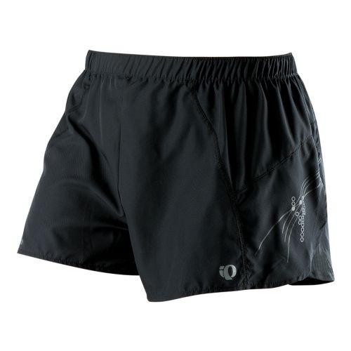 Womens Pearl Izumi Infinity Split Lined Shorts - Black/Black XS