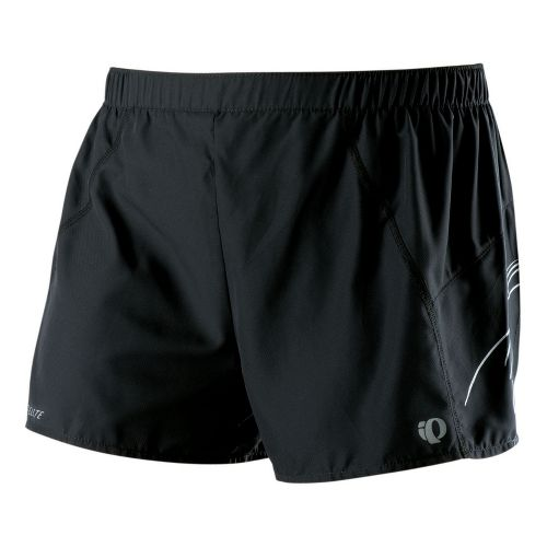 Womens Pearl Izumi Infinity Split Lined Shorts - Black/White XL
