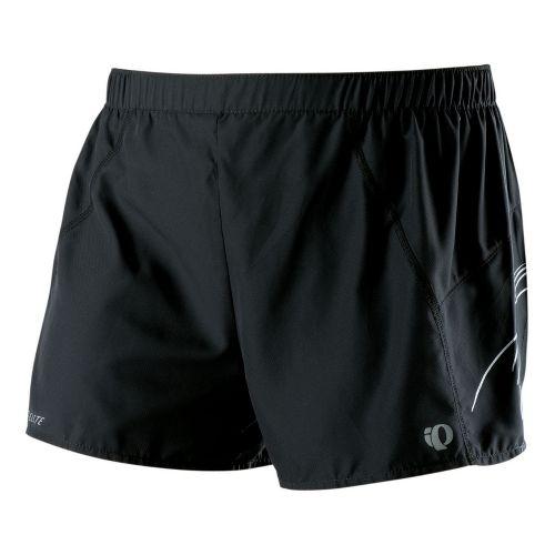 Womens Pearl Izumi Infinity Split Lined Shorts - Black/White XS
