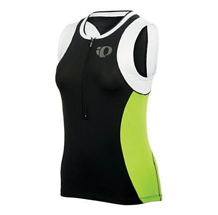 Womens Pearl Izumi ELITE Tri SL Jersey Sleeveless Technical Tops