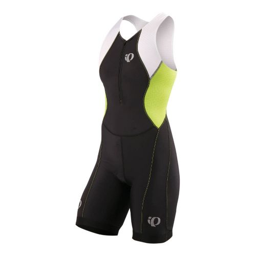 Womens Pearl Izumi SELECT Tri Suit Triathlon UniSuits - Black/Lime XL