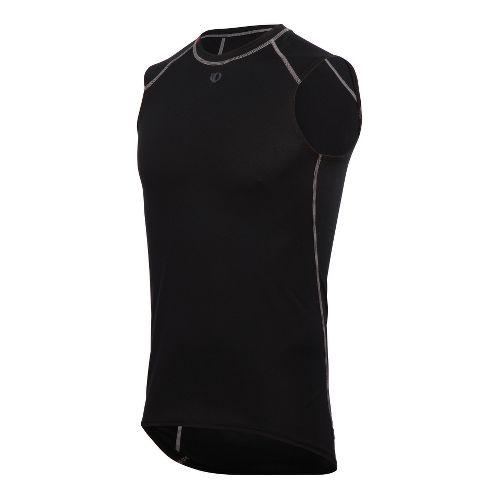Mens Pearl Izumi Transfer Lite Sleeveless Baselayer Sleeveless Technical Tops - Black M