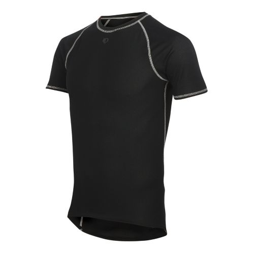 Mens Pearl Izumi Transfer Lite SS Baselayer Short Sleeve Technical Tops - Black XL