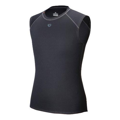 Mens Pearl Izumi Transfer Sleeveless Baselayer Sleeveless Technical Tops - Black XL
