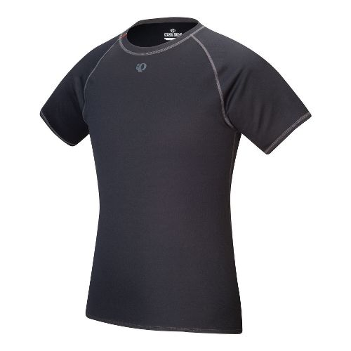 Mens Pearl Izumi Transfer Short Sleeve Baselayer Technical Tops - Black XL