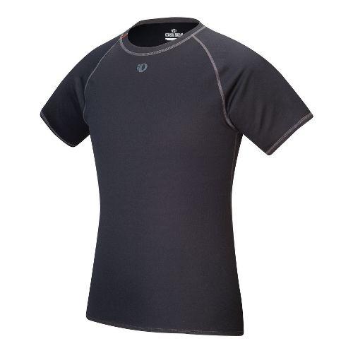 Mens Pearl Izumi Transfer Short Sleeve Baselayer Technical Tops - Black XXL