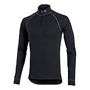 Mens Pearl Izumi Transfer Zip-Neck Long Sleeve Baselayer 1/2 Zip Technical Tops