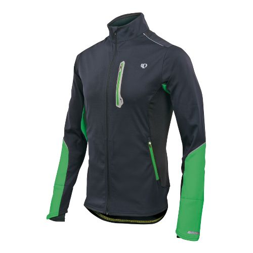 Mens Pearl Izumi Infinity Softshell Jacket Running - Black/Fairway L