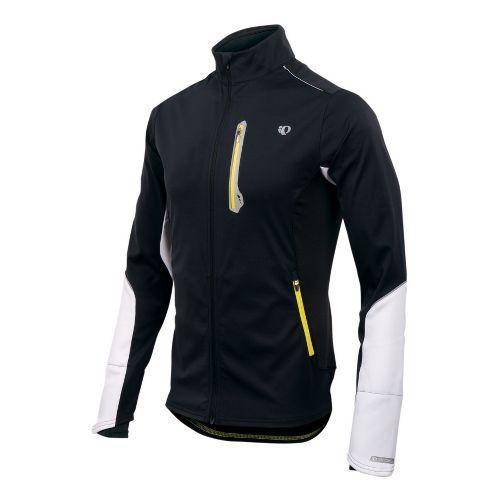 Mens Pearl Izumi Infinity Softshell Jacket Running - Black/White S