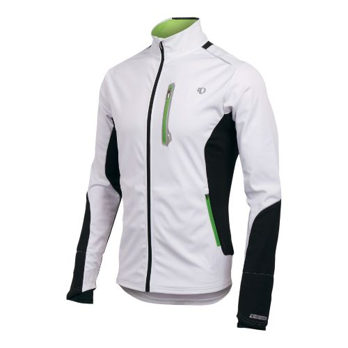 Mens Pearl Izumi Infinity Softshell Jacket Running - White/Black L
