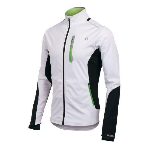 Mens Pearl Izumi Infinity Softshell Jacket Running - White/Black M
