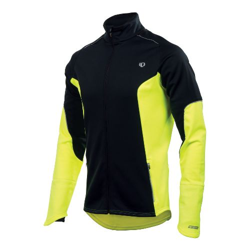 Mens Pearl Izumi Infinity Windblocking Running Jackets - Black/Screaming Yellow XL