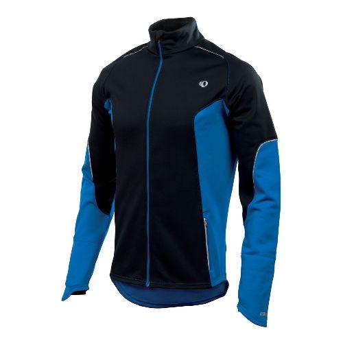 Mens Pearl Izumi Infinity Windblocking Running Jackets - Black/True Blue M