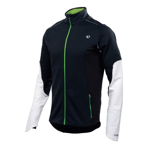 Mens Pearl Izumi Infinity Windblocking Running Jackets - Black/White XXL