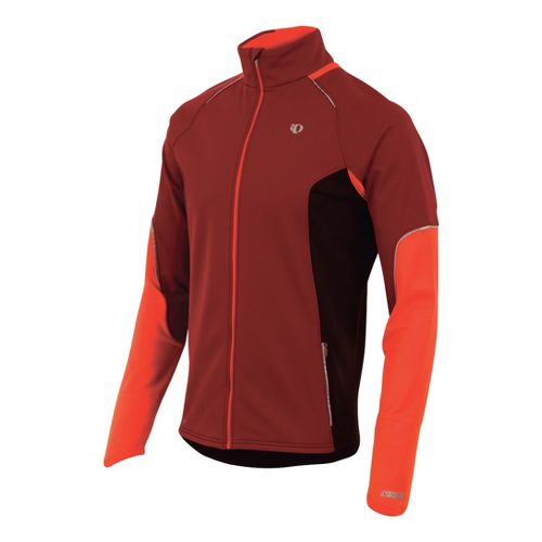 Mens Pearl Izumi Infinity Windblocking Running Jackets - Sangria L