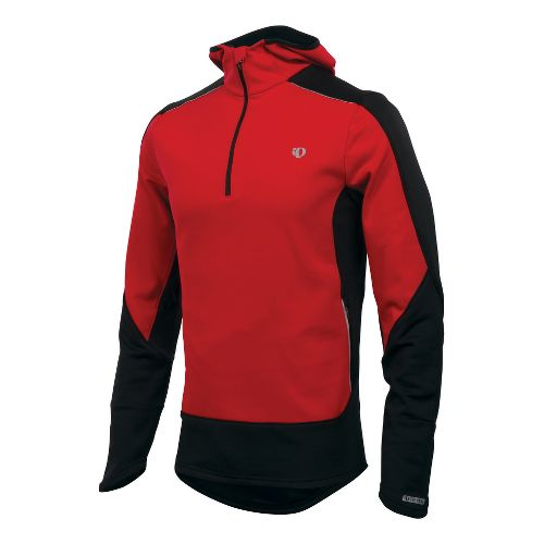 Mens Pearl Izumi Infinity Windblocking Hoody Long Sleeve 1/2 Zip Technical Tops - True ...