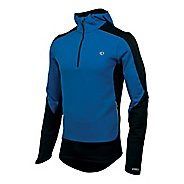 Mens Pearl Izumi Infinity Windblocking Hoody Long Sleeve 1/2 Zip Technical Tops