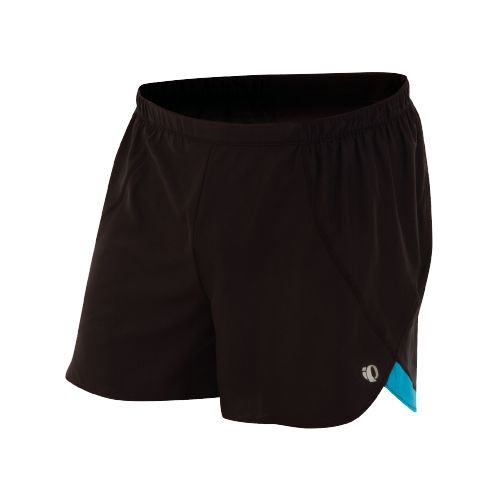 Mens Pearl Izumi Infinity Short Splits Shorts - Black/Electric Blue S