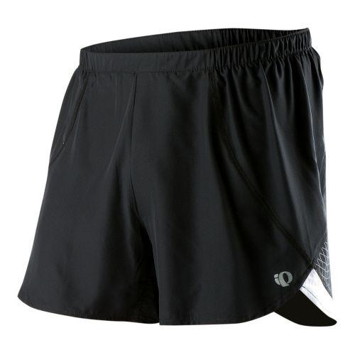 Mens Pearl Izumi Infinity Short Splits Shorts - Black/White S