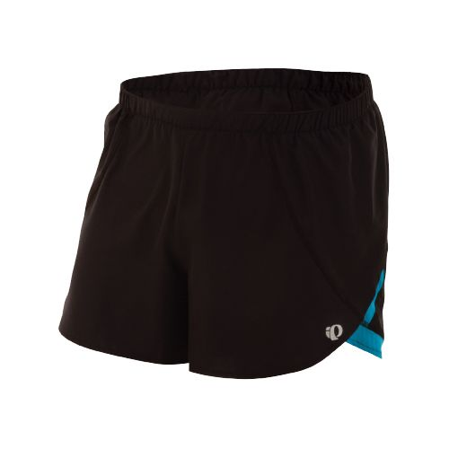 Mens Pearl Izumi Infinity Split Short Splits Shorts - Black/Electric Blue S