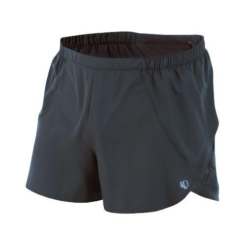 Mens Pearl Izumi Infinity Split Short Splits Shorts - Shadow Grey/Shadow Grey M