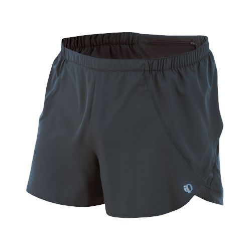 Mens Pearl Izumi Infinity Split Short Splits Shorts - Shadow Grey/Shadow Grey XL