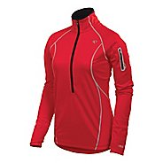 Womens Pearl Izumi Fly Evo Pullover Long Sleeve 1/2 Zip Technical Tops