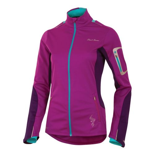 Womens Pearl Izumi Infinity Softshell Running Jackets - Orchid/Blackberry M