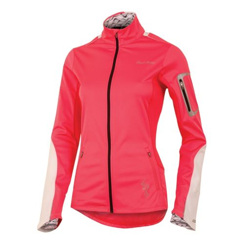 Womens Pearl Izumi Infinity Softshell Running Jackets - Paradise Pink M