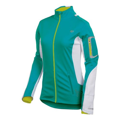 Womens Pearl Izumi Infinity Softshell Running Jackets - Peacock XL