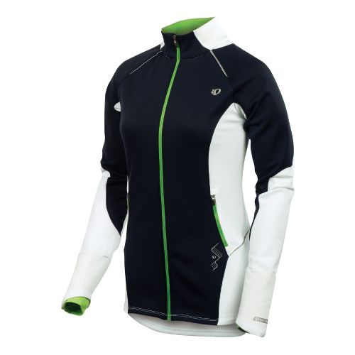 Womens Pearl Izumi Infinity Windblocking Running Jackets - Black/White S