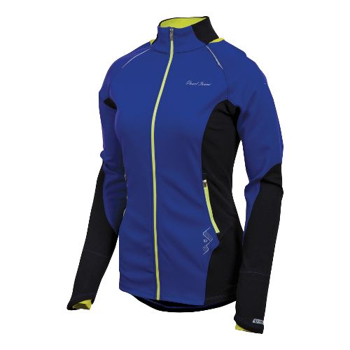 Womens Pearl Izumi Infinity Windblocking Running Jackets - Dahlia/Black S