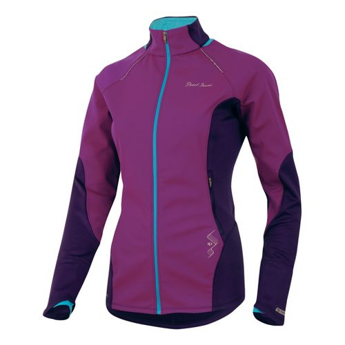 Womens Pearl Izumi Infinity Windblocking Running Jackets - Orchid/Blackberry XS