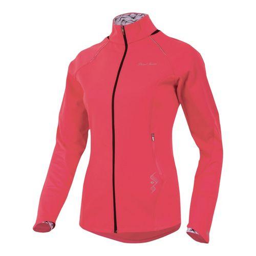 Womens Pearl Izumi Infinity Windblocking Running Jackets - Paradise Pink L